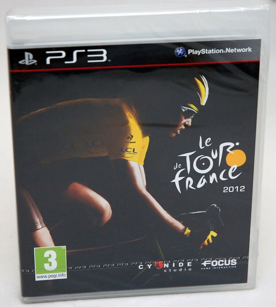 NEW SEALED Le Tour De France 2012 Playstation 3 Video Game ...Ps3 Games List 2012