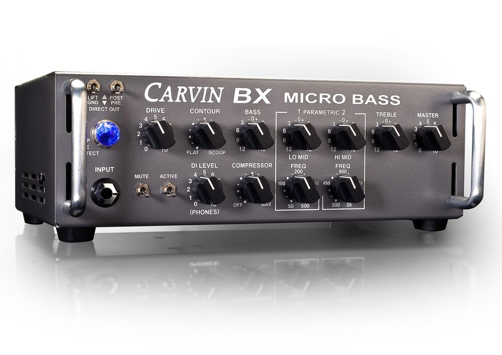 carvin bx250 250w micro bass guitar amp amplifier head compressor new ebay. Black Bedroom Furniture Sets. Home Design Ideas