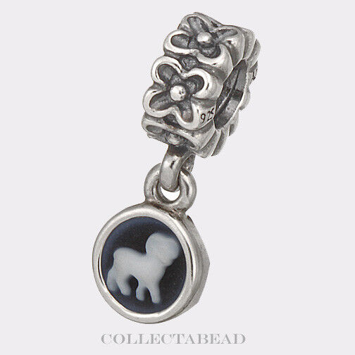 authentic pandora sterling silver aries cameo dangle bead