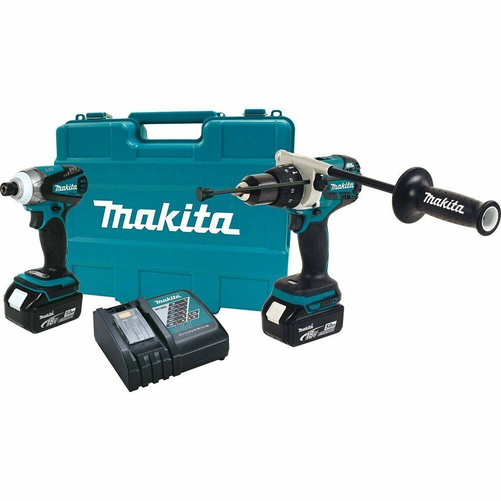 makita xt252t 2pc 18v lxt li ion brushless cordless combo kit impact driver hamm ebay. Black Bedroom Furniture Sets. Home Design Ideas