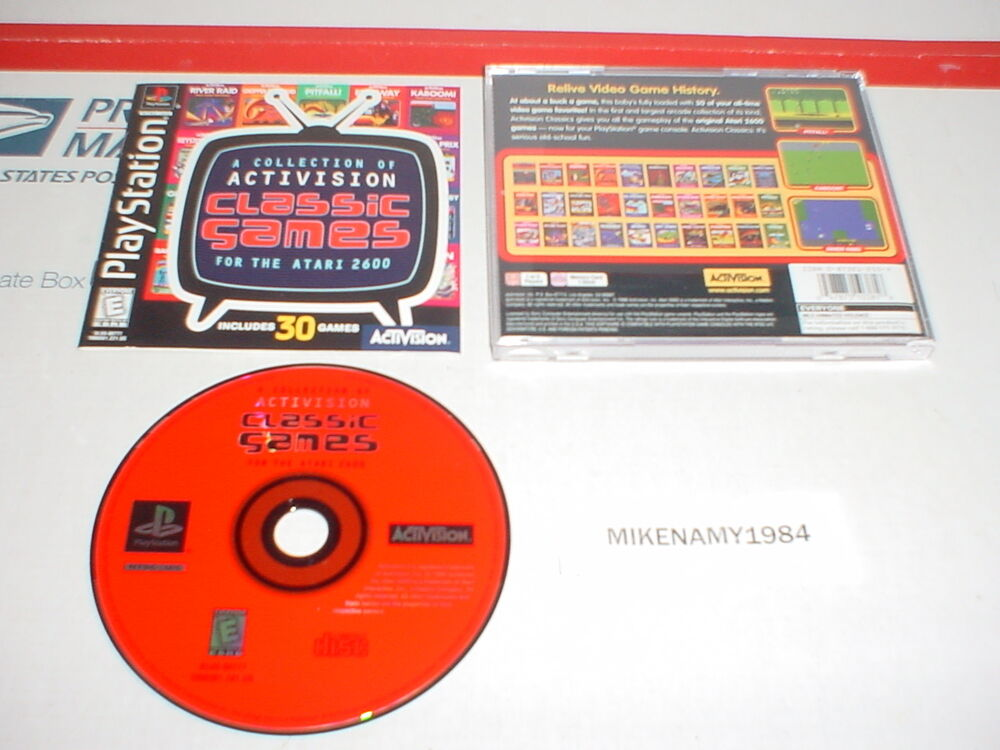 ACTIVISION CLASSICS with 30 games complete w/ Manual for ...
