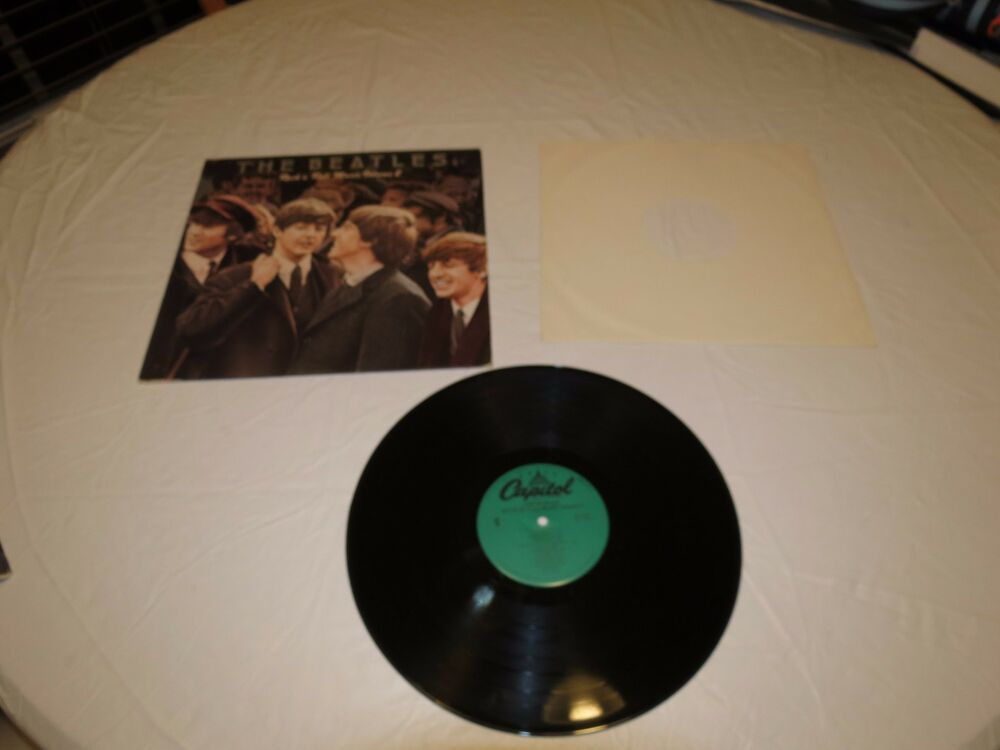 Rare The Beatles Rock N Roll Music Volume 2 Sn 16021 Lp