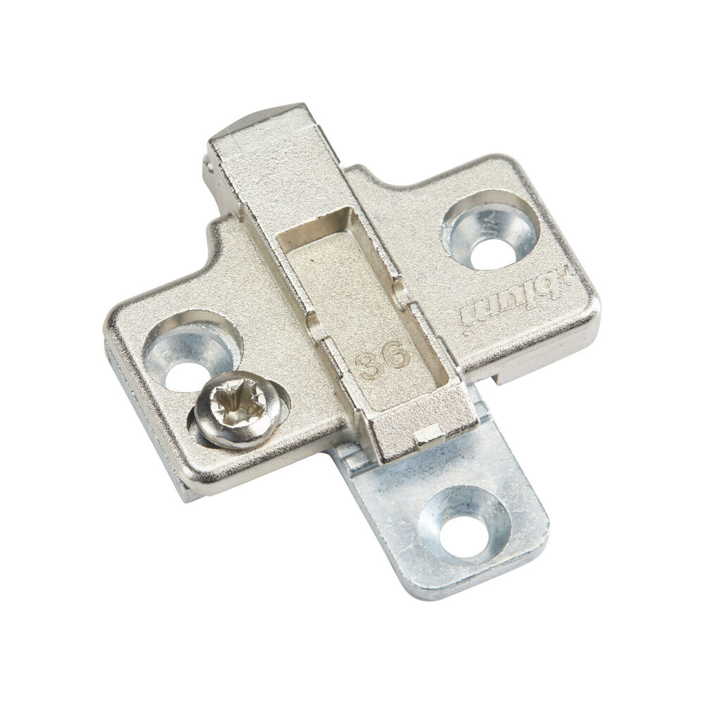 0 mm blum cabinet hinge clip mounting plates 175h7100 ebay for Cabinet mounting plate