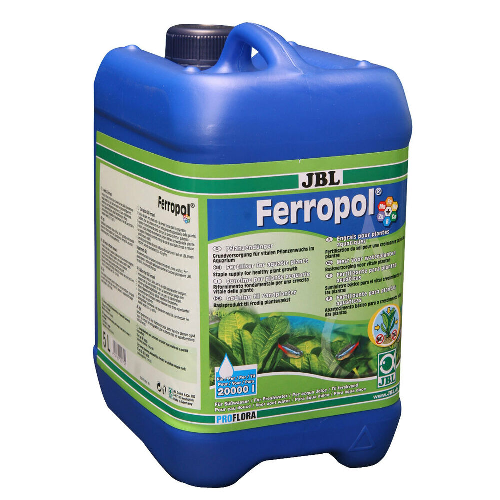 Jbl ferropol 5000ml water plant aquarium fertilizer with for Jbl aquarium