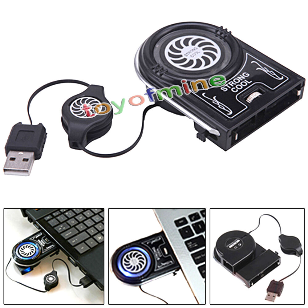 Mini Vacuum Usb Cooler Air Extracting Cooling Pad Fan For