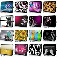 "10"" Laptop Cover Sleeve Case Bag for 10.1"" Samsung Galaxy Tab /Apple iPad 2 3 4"