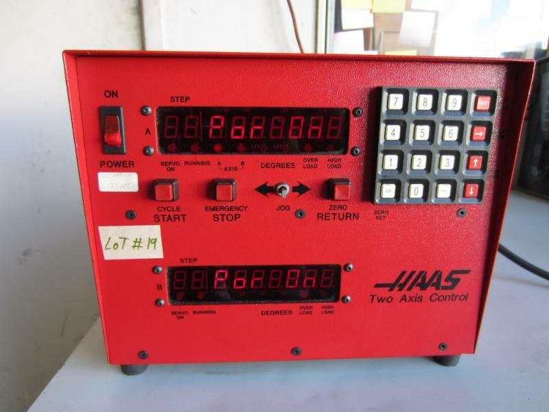 Haas Two Axis Control Box 4th 5th Rotary Table Indexer
