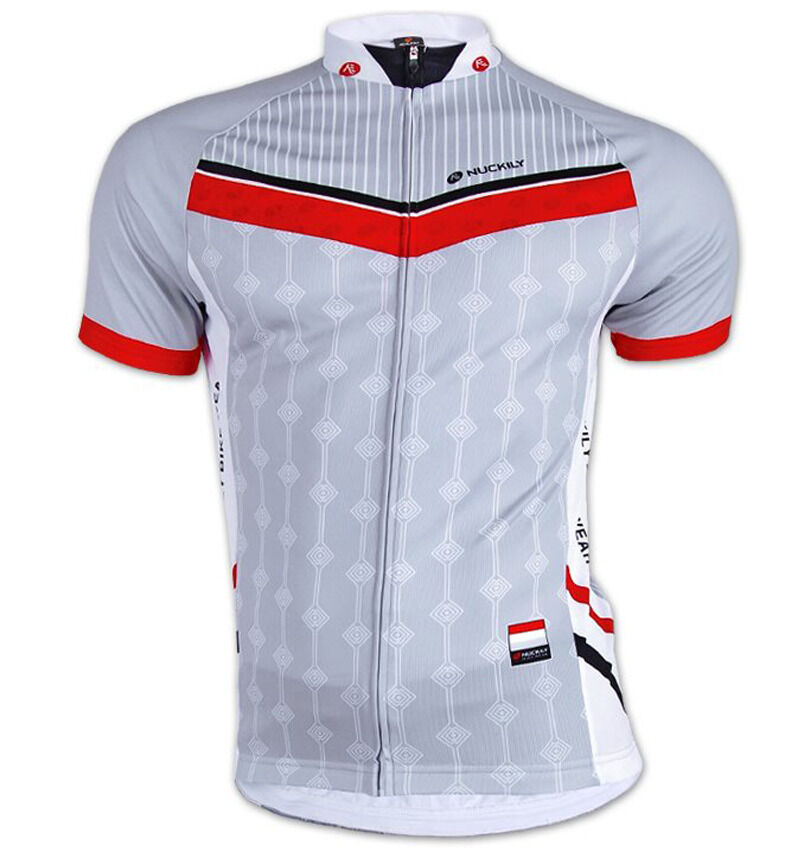 Mens Outdoor Sports Cycling Jersey Top Bike Bicycle