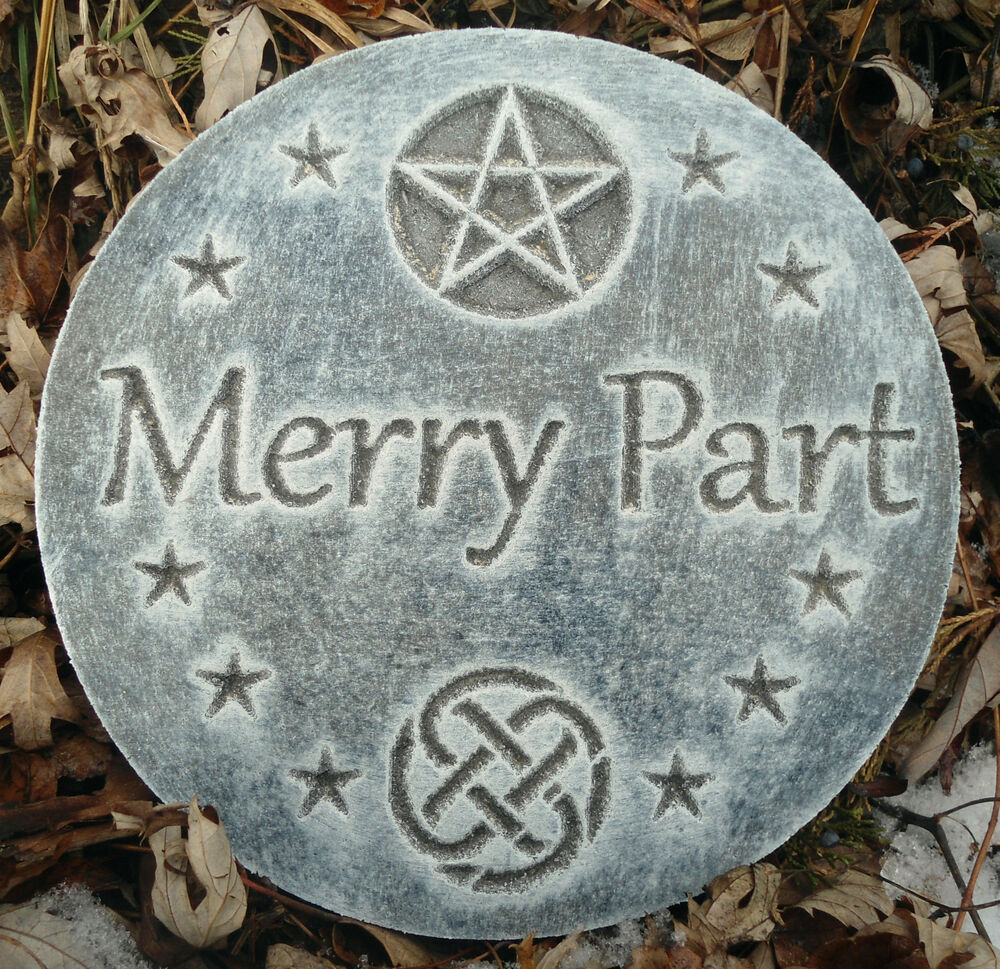 plastic merry part plaque mold garden plaque stepping stone ebay. Black Bedroom Furniture Sets. Home Design Ideas