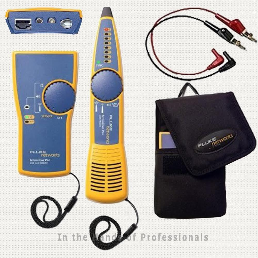 fluke MT-8200-60-KIT + MT-8203-20 + MT-8202-05 intellitone
