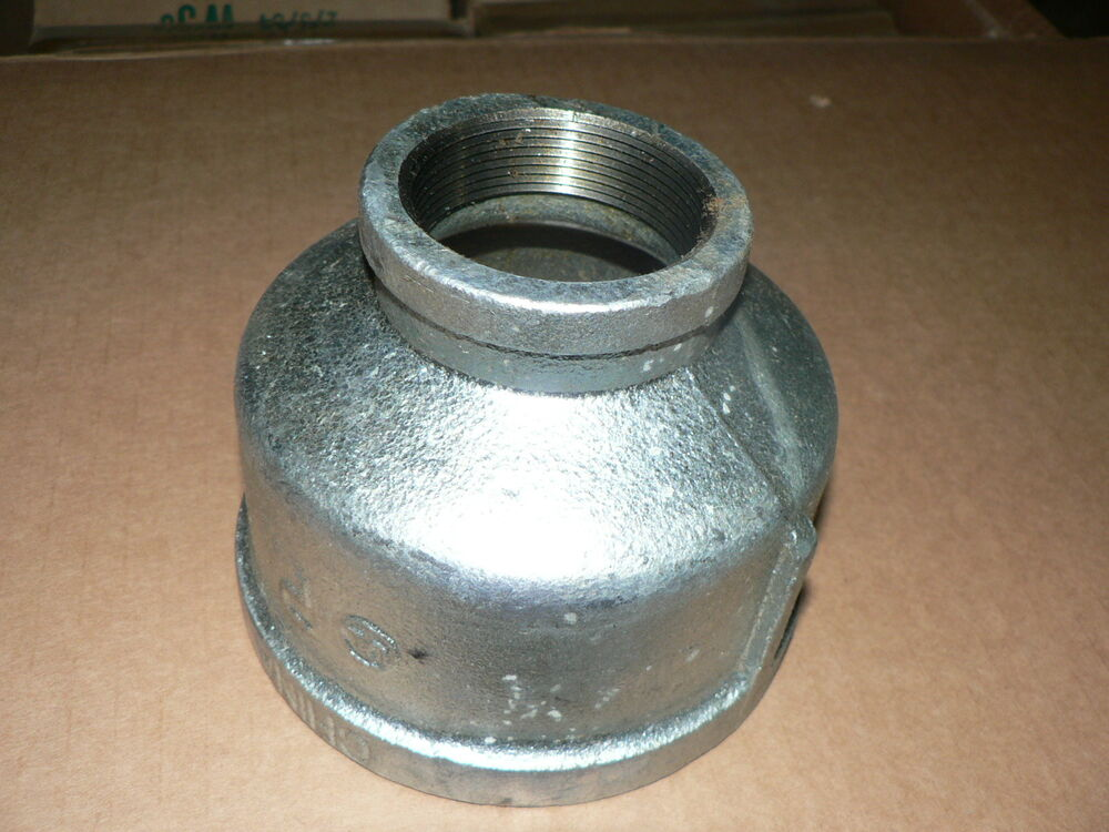 Cast iron pipe reducer quot b ebay