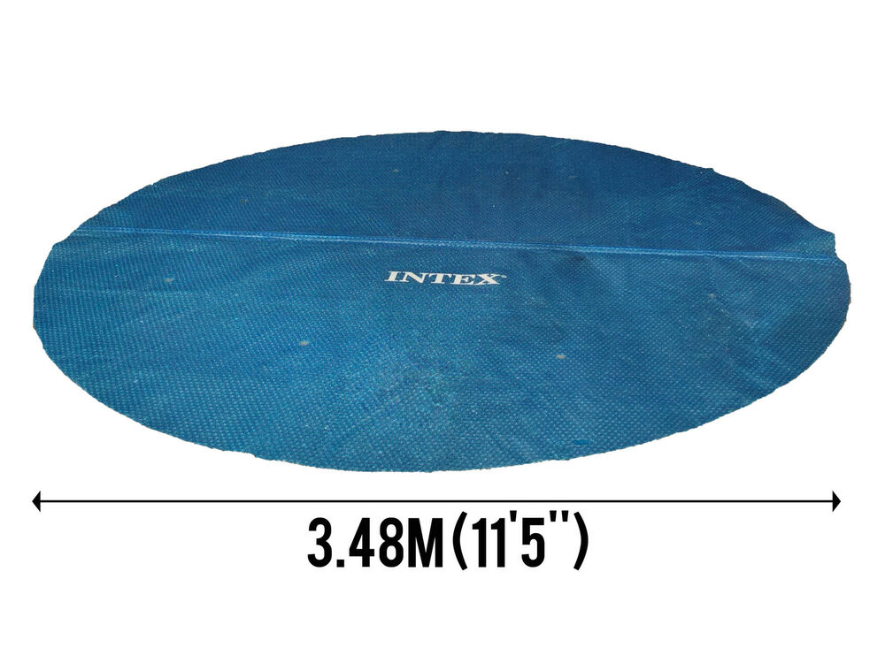 12ft pool solar cover for easy set frame above ground swimming pools 200 micro ebay for 12ft solar swimming pool covers