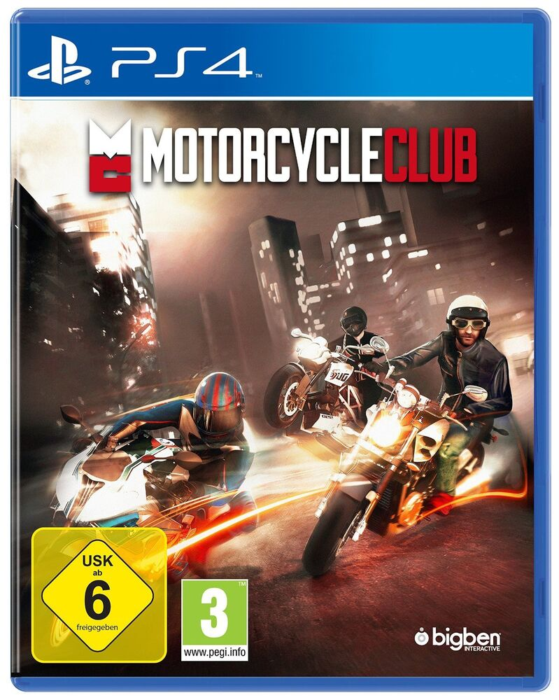 ps4 motorcycle club motorrad rennen spiel neuware ebay. Black Bedroom Furniture Sets. Home Design Ideas