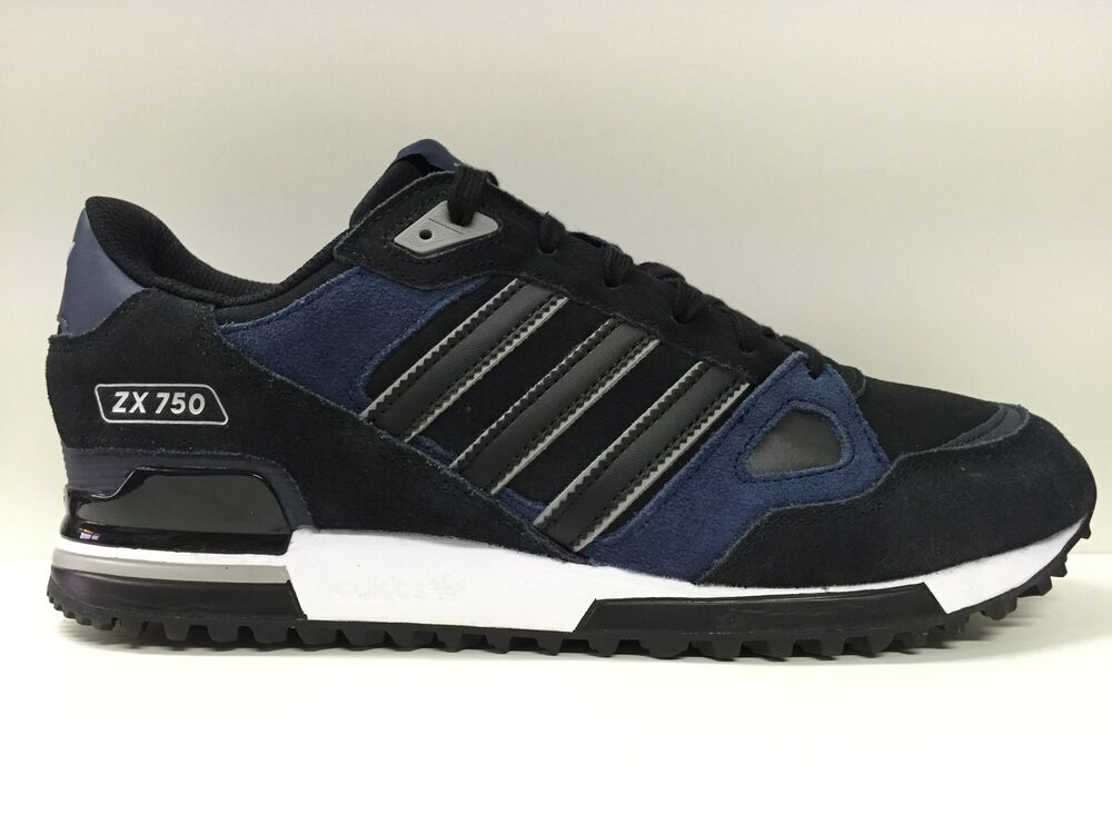 new product a2b5a 980d6 SCARPE SNEAKERS CASUAL UOMO DONNA ADIDAS ORIGINALE ZX 750 M18258 SHOES  PELLE NEW