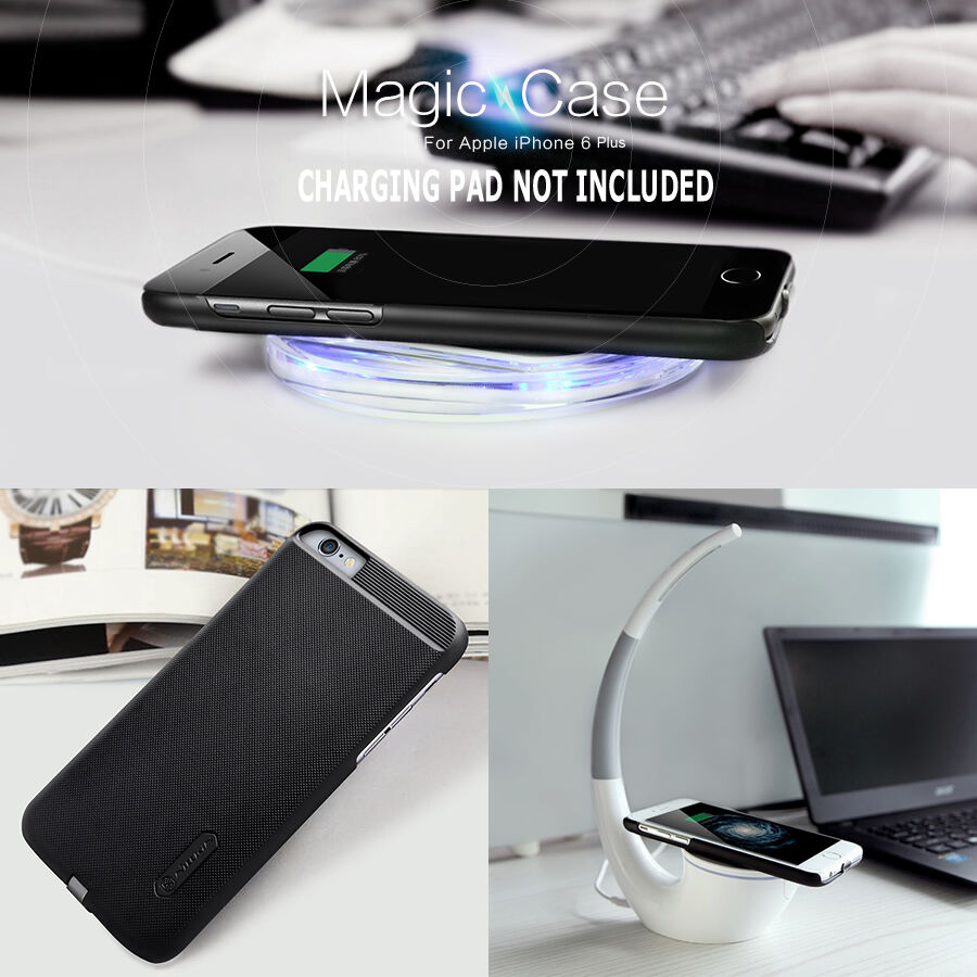for apple iphone 7 6s 6 se 5s plus qi wireless charger. Black Bedroom Furniture Sets. Home Design Ideas