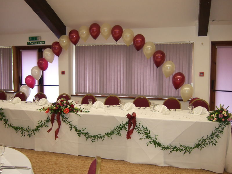 Large buffet table balloon helium arch display kit diy for for Balloon decoration kits