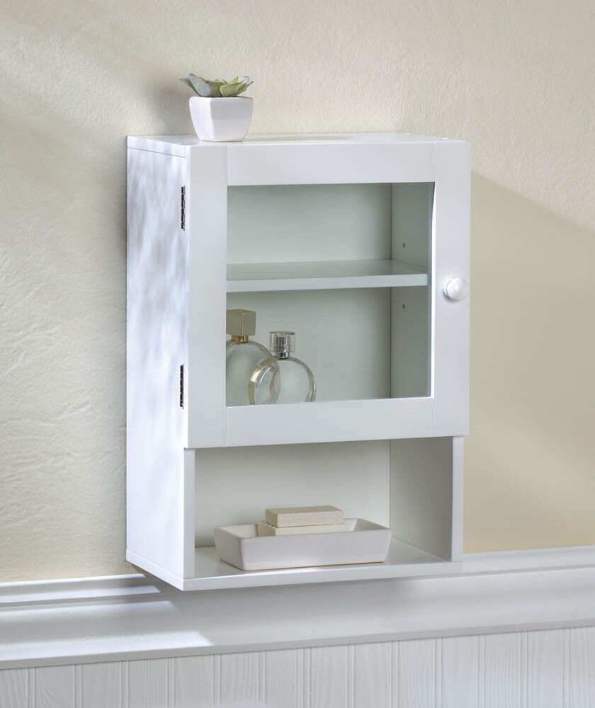 Bathroom Modern Vogue Medicine Wall Cabinet W Glass Door Decor New 10016023 Ebay