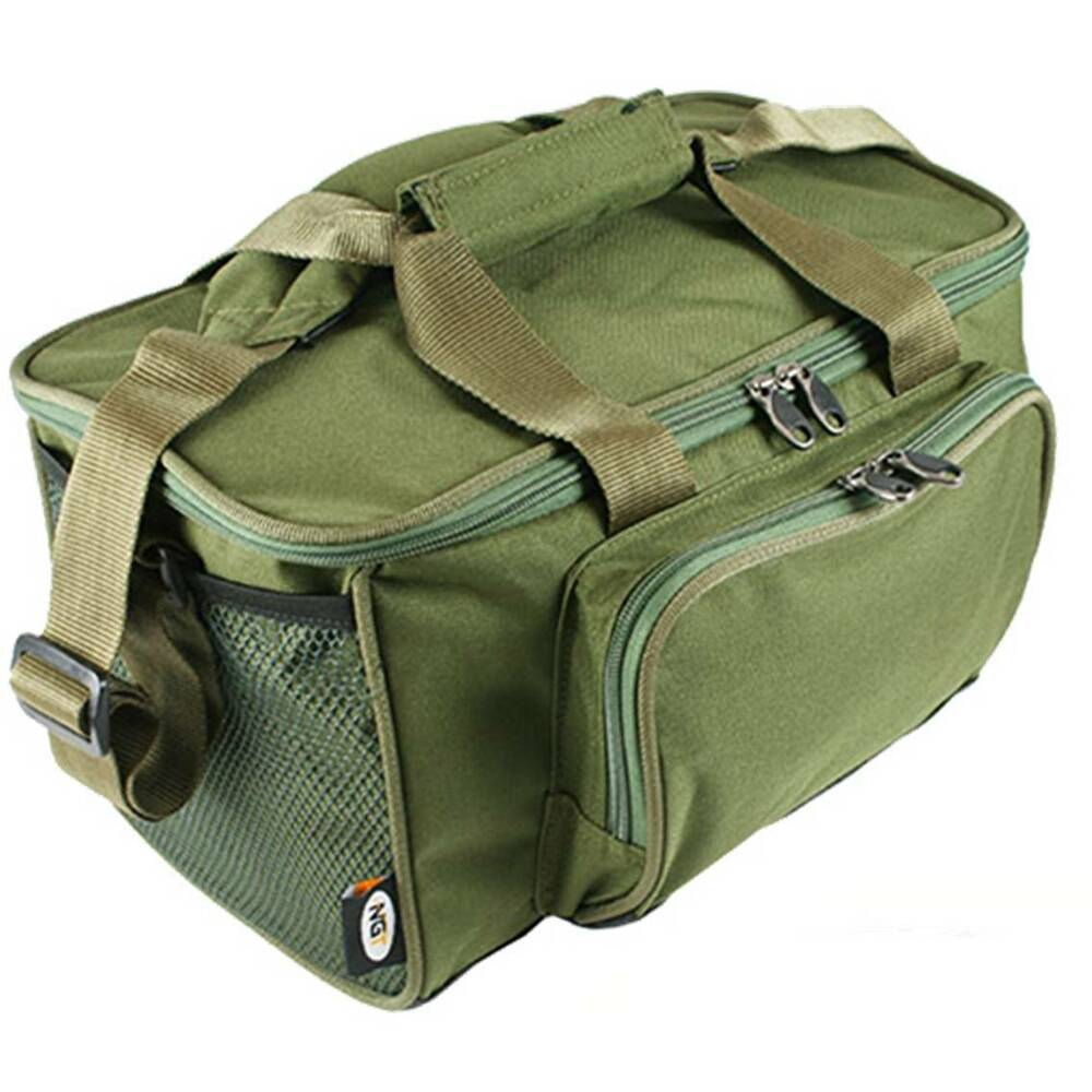 New green small carp coarse fishing tackle stalker bag for Fishing tackle bags