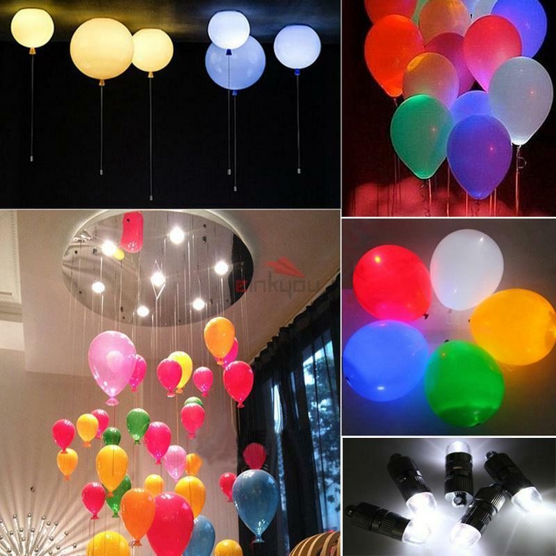 12pcs mini battery operated led balloons lights for for Decoration lights