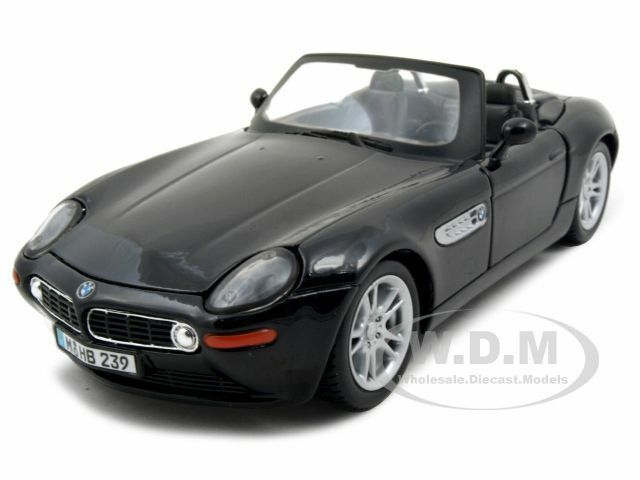 Bmw Z8 Black 1 24 Diecast Model Car By Maisto 31996 Ebay