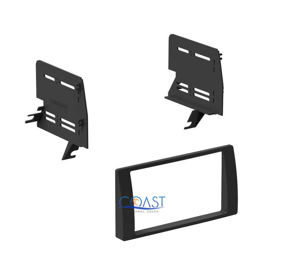 single double din installation dash kit for 2002 2006 toyota camry vehicles ebay. Black Bedroom Furniture Sets. Home Design Ideas