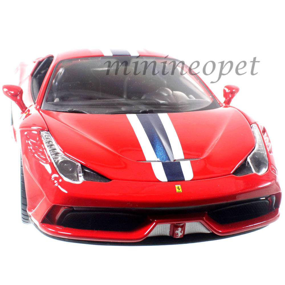 bburago 18 16002 ferrari 458 speciale 1 18 diecast car red. Black Bedroom Furniture Sets. Home Design Ideas
