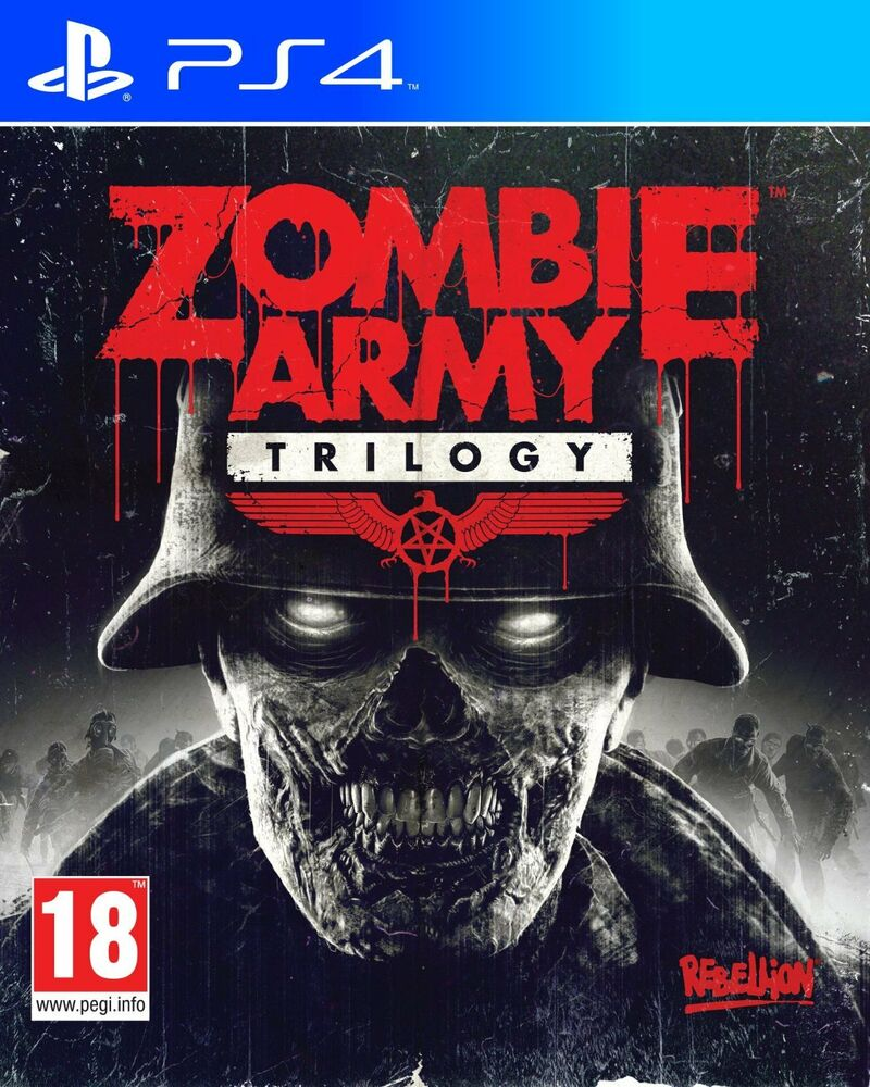 zombie army trilogy playstation 4 ps4 action video game brand new sealed ebay. Black Bedroom Furniture Sets. Home Design Ideas