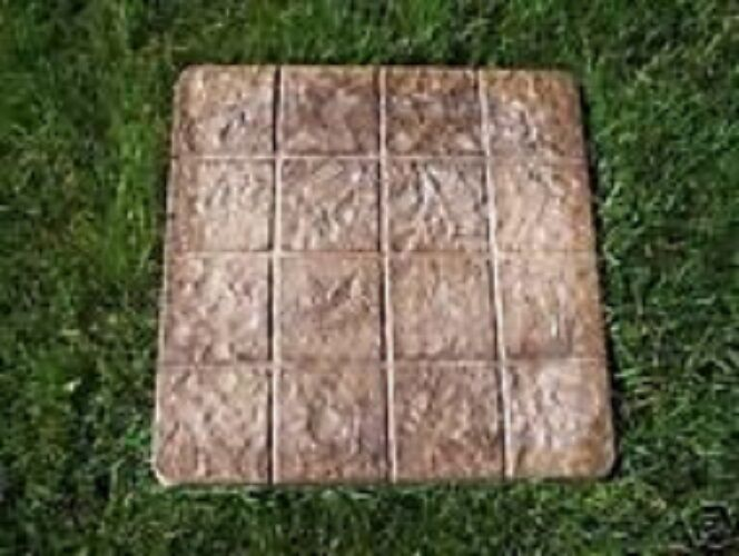how to use plastic paver moulds