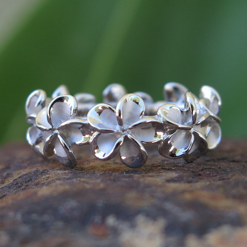 Flower Band Wedding Ring