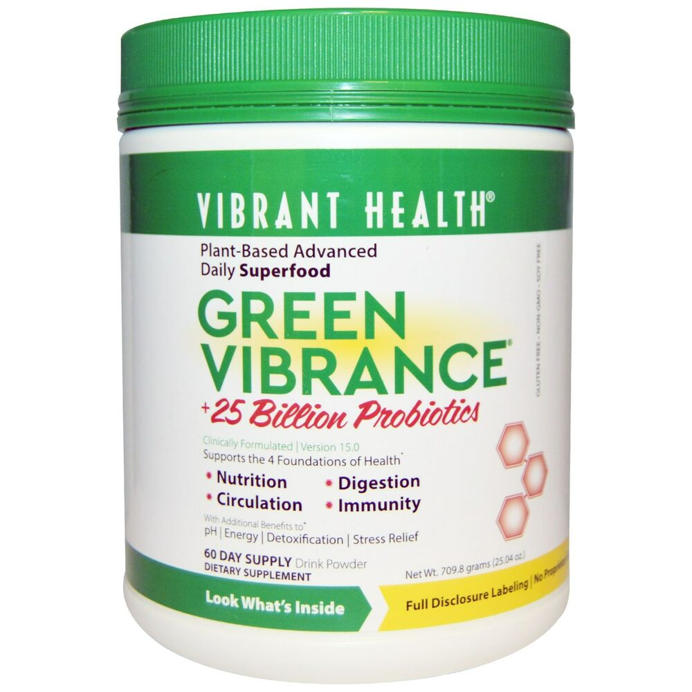 Vibrant Health Green Vibrance V16 0 Superfood Probiotics