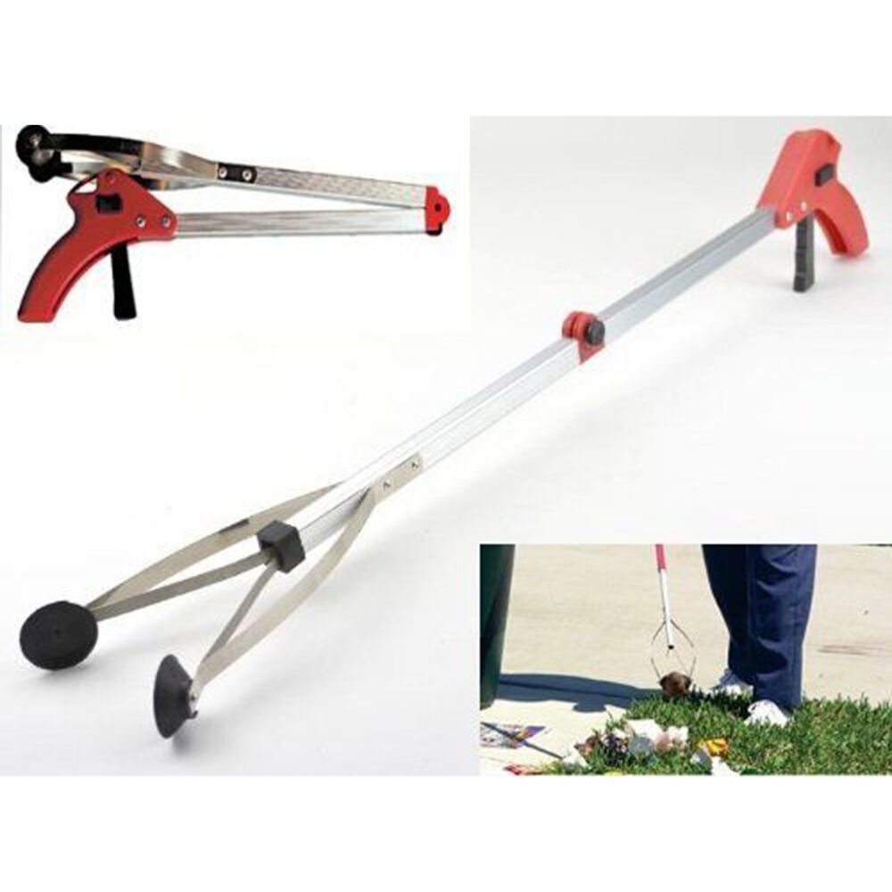 Reach Assist Arm : Folding pick up reaching tool easy reach grab grabber