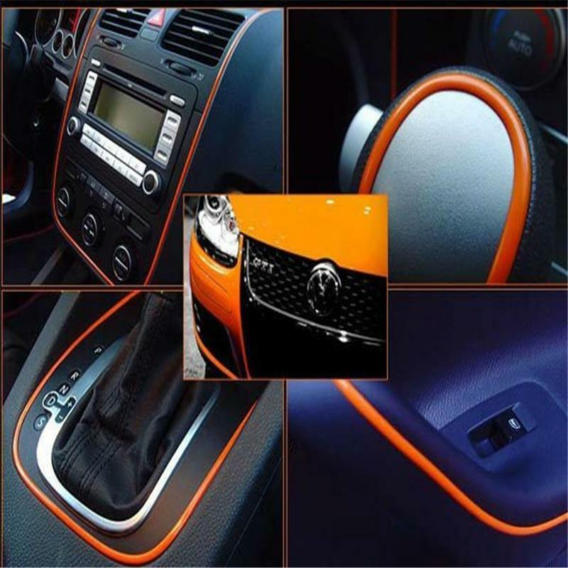 5m flexible trim for car interior exterior moulding strip decorative line j ebay. Black Bedroom Furniture Sets. Home Design Ideas