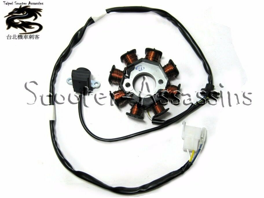 Stator Generator For Kymco Movie 125 150 Xl Euro 2 Vivio Agility 125 Euro 2 Euro
