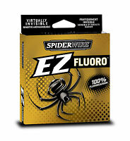 100% Fluorocarbon Line - Spiderwire EZ - 200yd Spool - All Sizes
