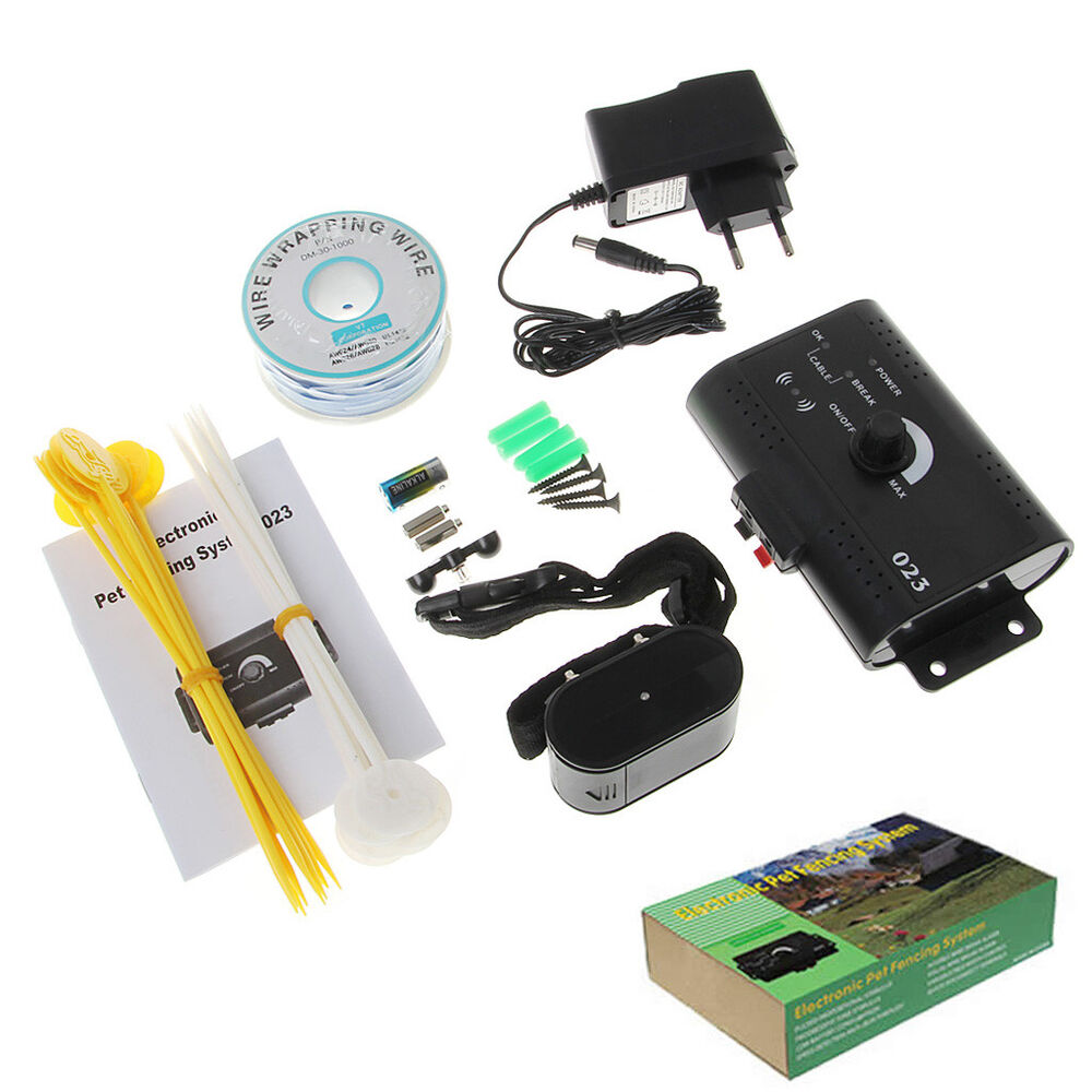 Underground Electric Dog Fence System Waterproof Shock