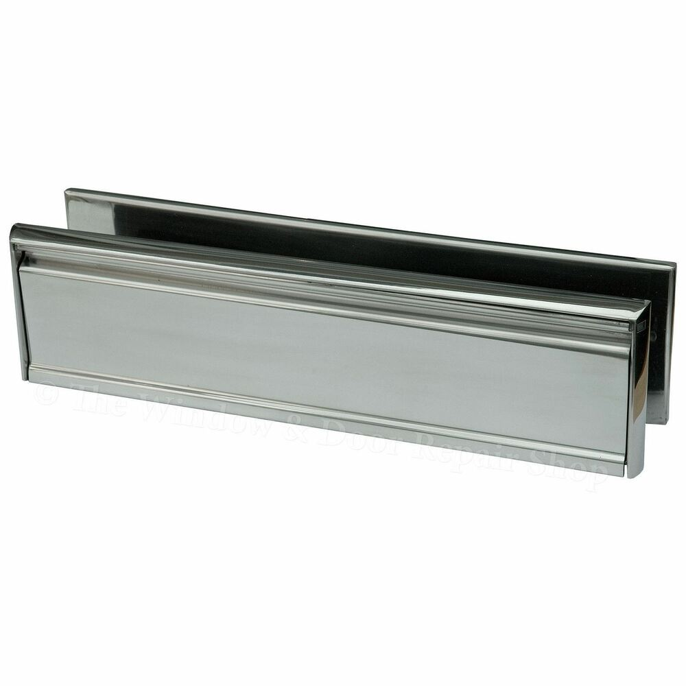 12 inch letter box plate polished stainless steel 40 80 for 12 inch door