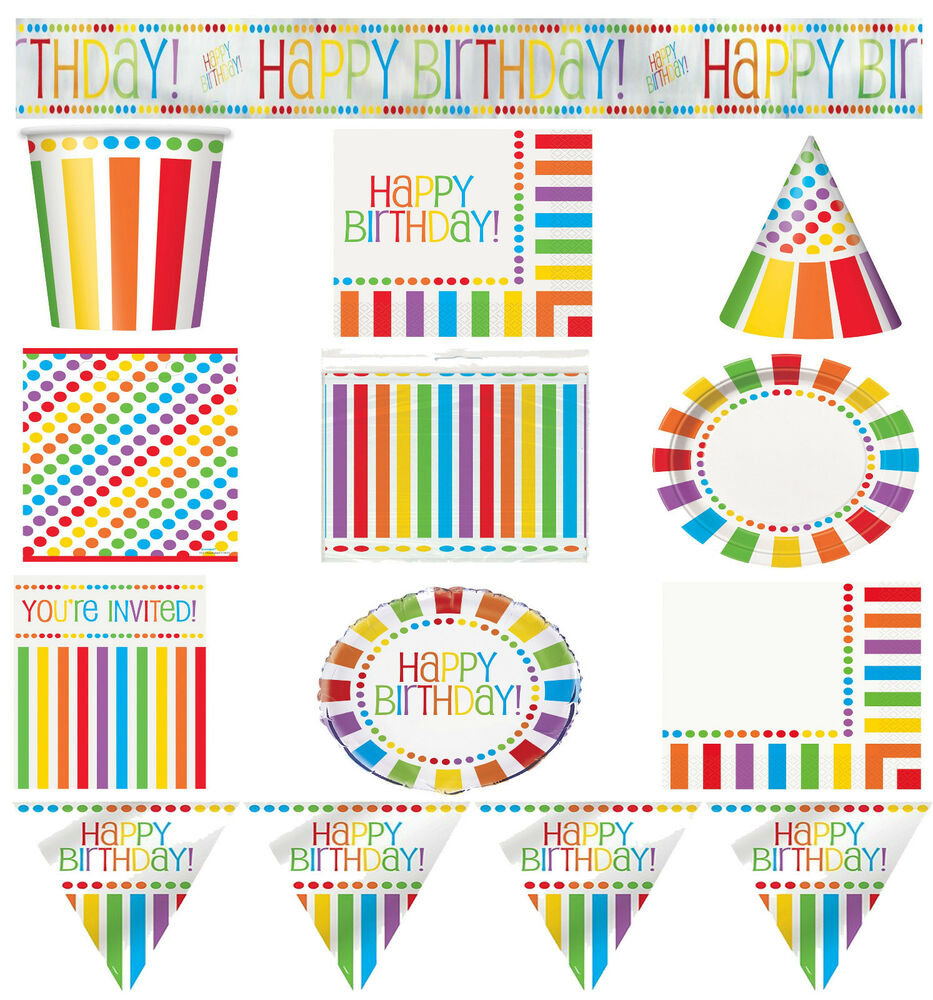 adult celebration party supplies