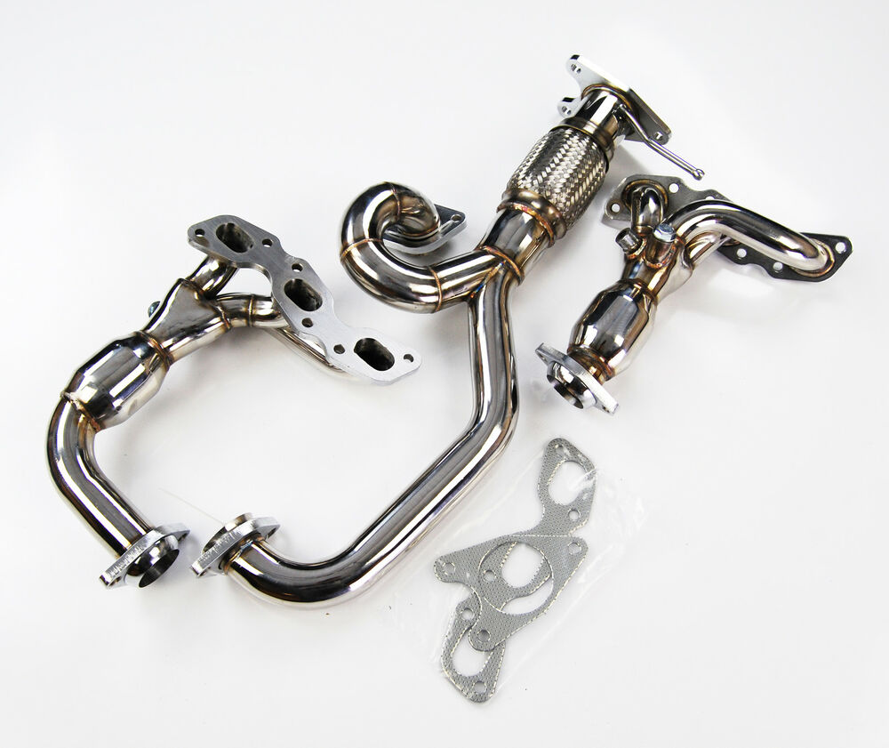 Stainless steel exhaust manifold y pipe for ford mondeo