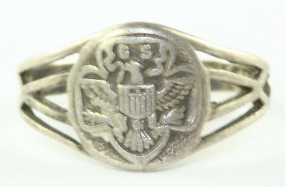 History Girl Scout Ring