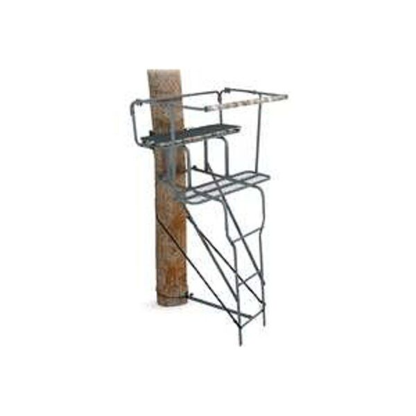 New ameristep 8500 two man 15ft 500lb ladder deer hunting for Deer hunting platforms