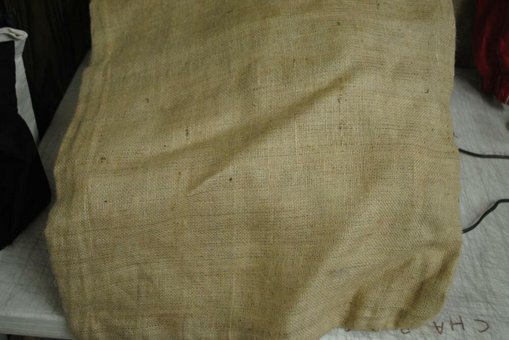 4 24x40 burlap bags potato peanut sack country wedding Burlap bag decorating ideas