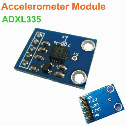 Adxl axis analog output accelerometer module angular