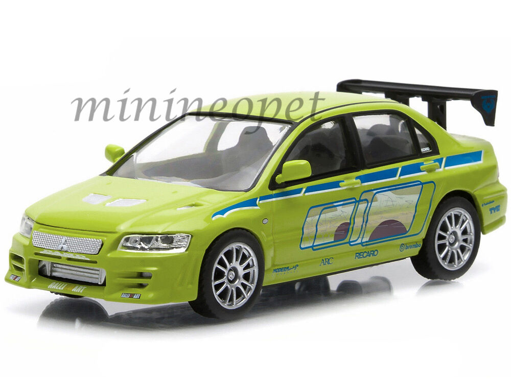 Lancer Fast And Furious GREENLIGHT 86209 FAST ...