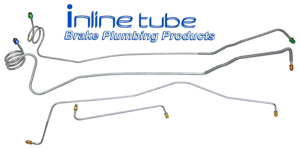 Brake Lines For Chevy Trucks : Wd ton chevrolet gmc truck power disc front
