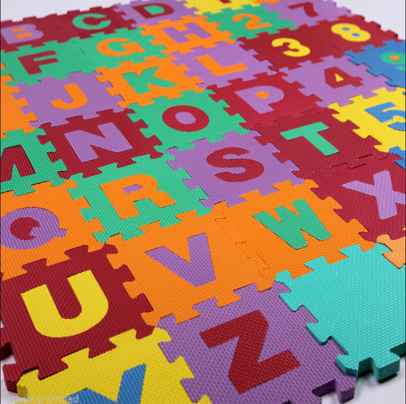 Kid Foam Learning Alphabet Letters Puzzle Abc Floor Play