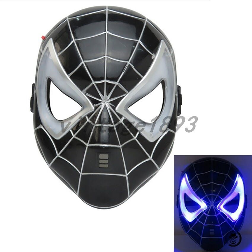 black spiderman mask - photo #3
