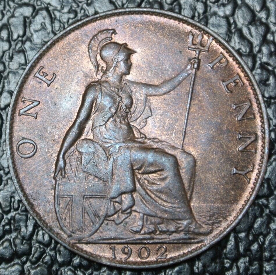 1902 great britain one penny edward vii nice coin ebay for One penny homes