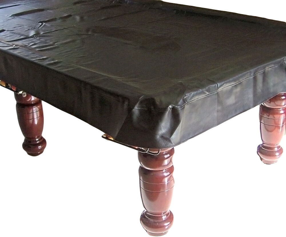 Quality pool snooker billiard table cover fitted heavy for 10 foot billiard table