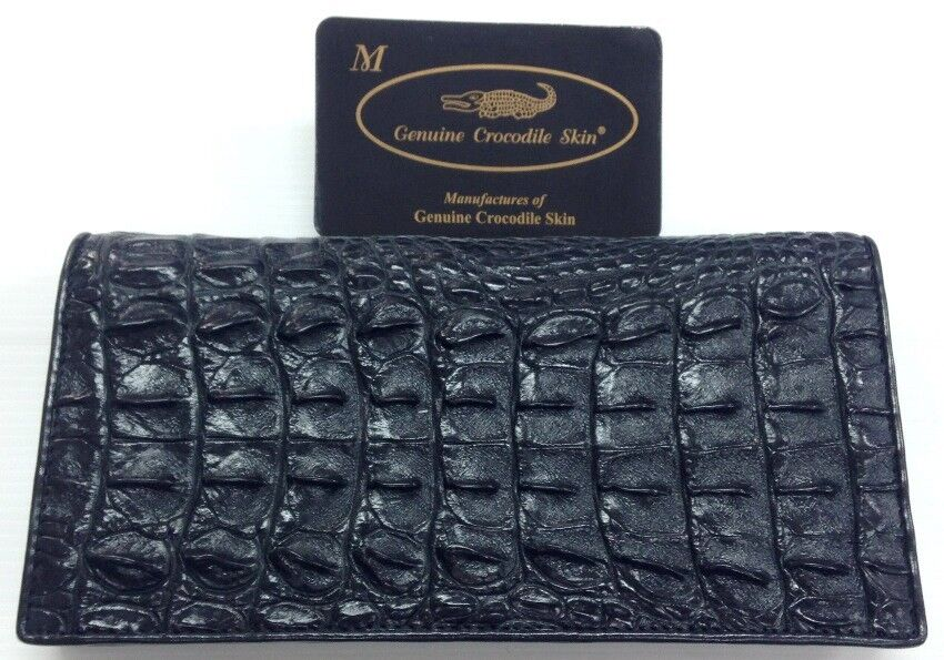 Genuine Real Crocodile Alligator Backbone Leather Skin