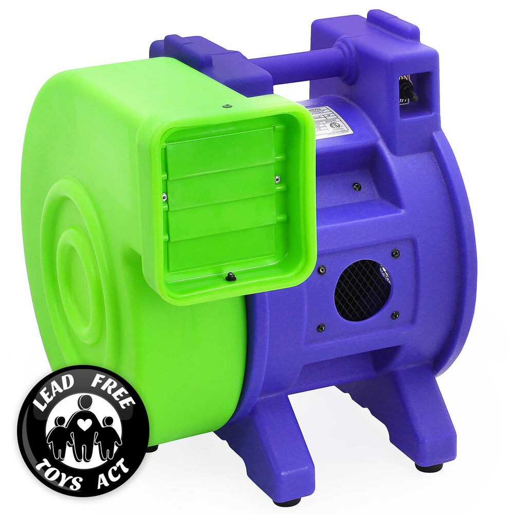 Commercial Air Blowers : Commercial inflatable bounce house air pump blower fan